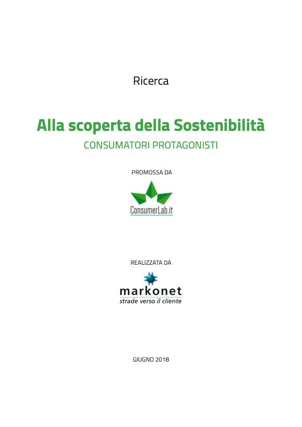 Alla scoperta della sostenibilità