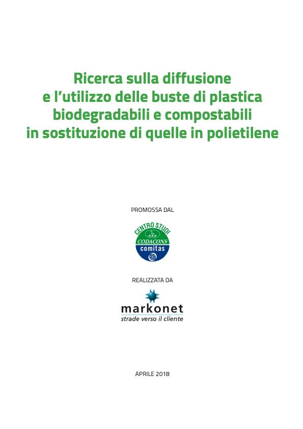 Diffusione e utilizzo buste di plastica